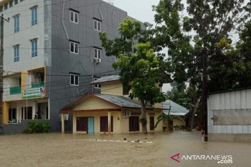 Banjir akibatkan genangan hingga 1,5 meter di Belitung