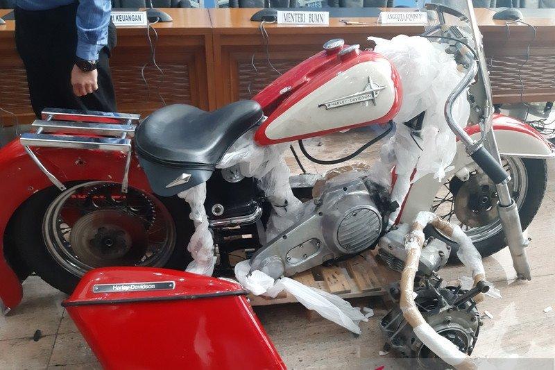 Menkeu Sri Mulyani heran pembawa Harley ilegal tidak menyukai sepeda motor