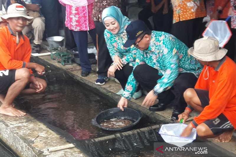 Menteri Edhy Prabowo targetkan produksi ikan air tawar capai 4.685.446 ton