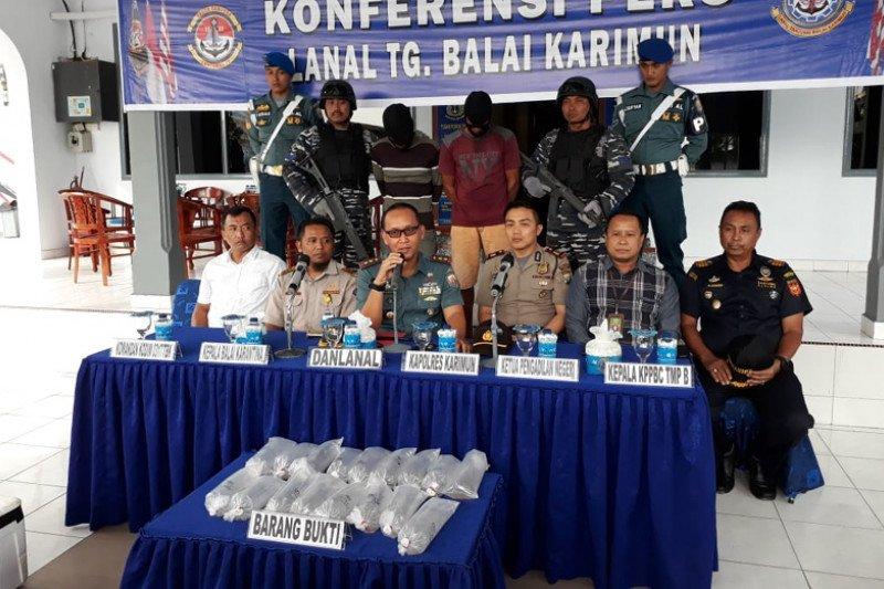 Lanal Karimun gagalkan penyelundupan benih lobster senilai Rp8 miliar