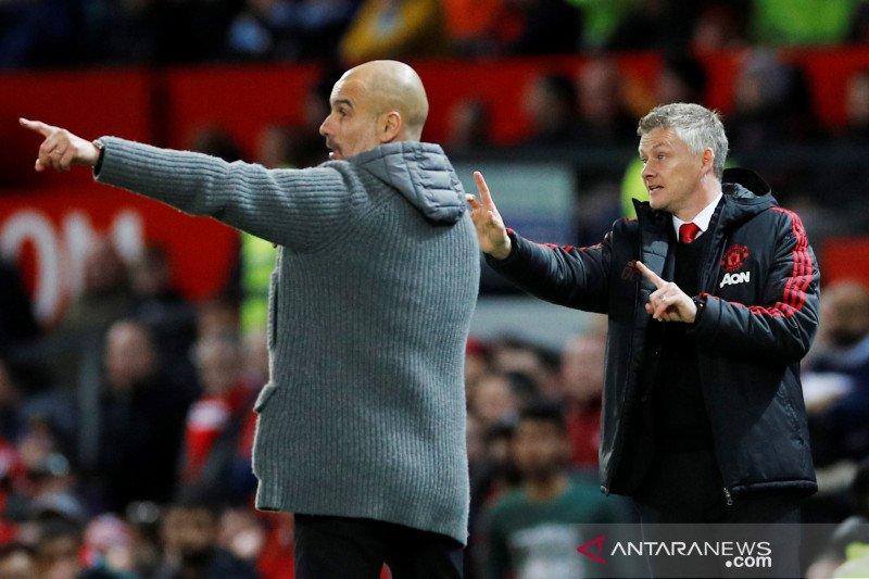 Solskjaer masih anggap United lebih besar dibandingkan Man City