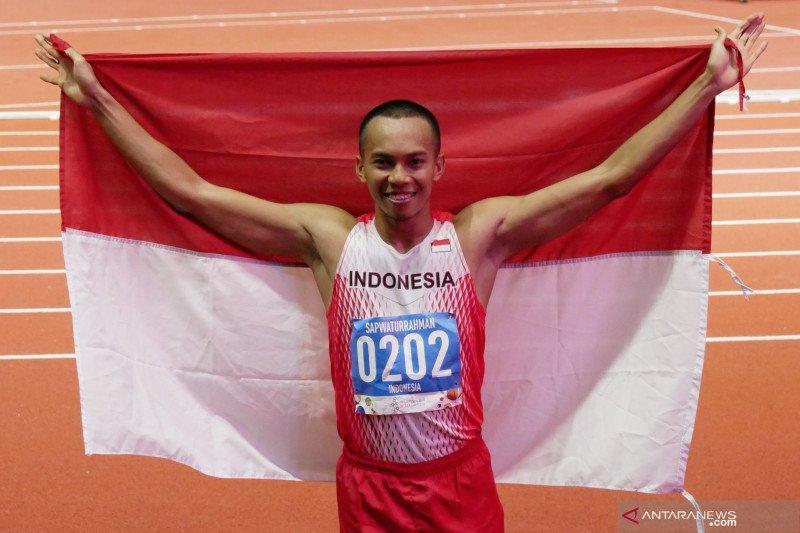 Indonesia tambah medali emas dari cabang lompat jauh