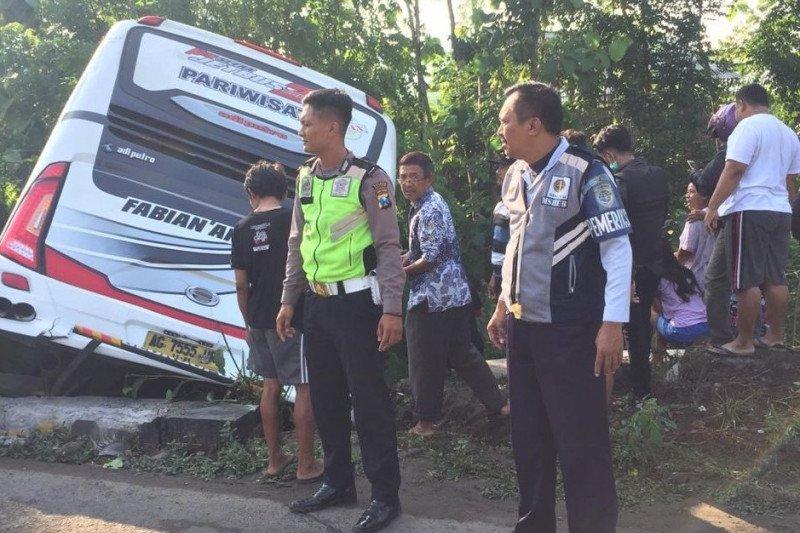 Kapolres Blitar sebut sejumlah korban kecelakaan bus sudah pulang