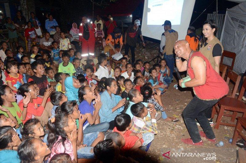BNPB libatkan artis dukung psikososial korban gempa Maluku