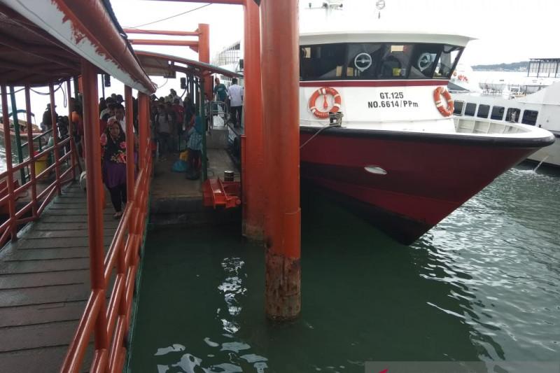 Feri Batam-Tanjungpinang kembali berlayar