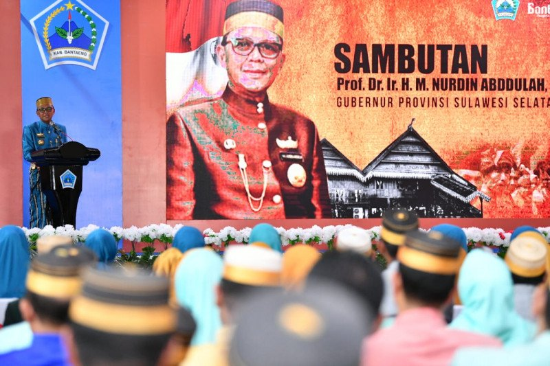 Gubernur Sulsel : Saya masuk dunia politik karena Kabupaten Bantaeng