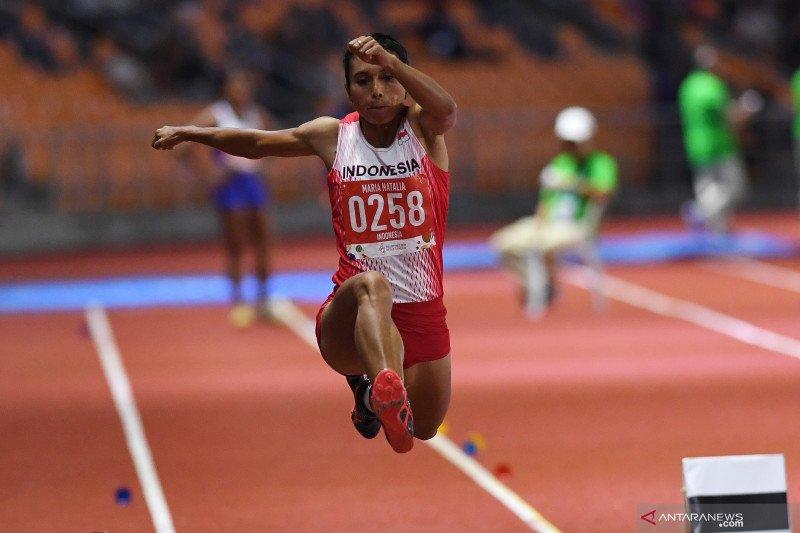 Medali emas lompat jauh SEA Games milik Maria Londa