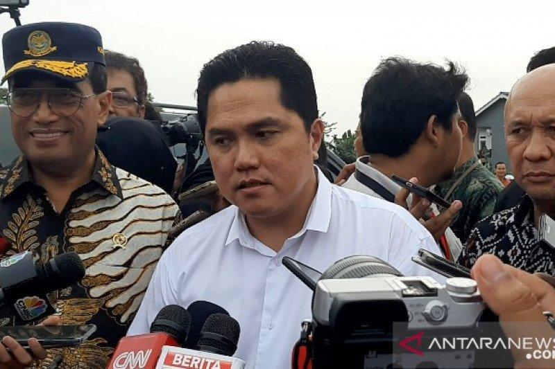 Erick Thohir dan Komisaris Garuda minta karyawan lakukan layanan seperti biasa