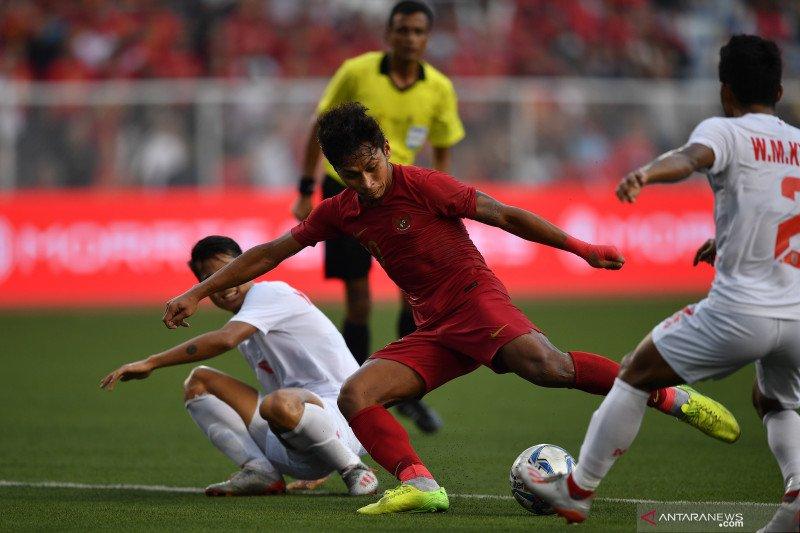 Indonesia ke final SEA Games setelah tundukkan Myanmar 4-2