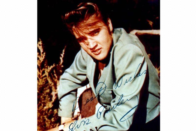 Pameran foto-foto langka Elvis Presley