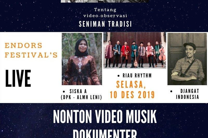 """Penggiat seni Riau kembangkan tari Zapin dalam """"Mancokau Music Festival"""""""
