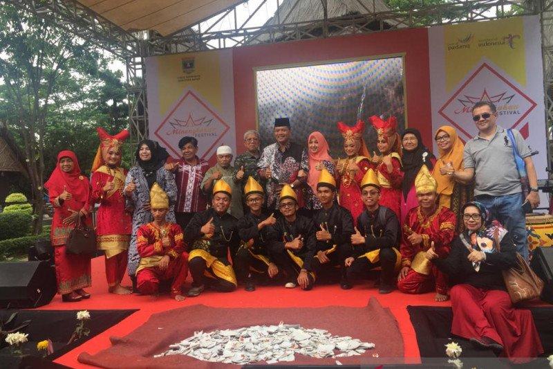 Minangkabau Festival obati rindu perantau di anjungan TMII 7-8 Desember