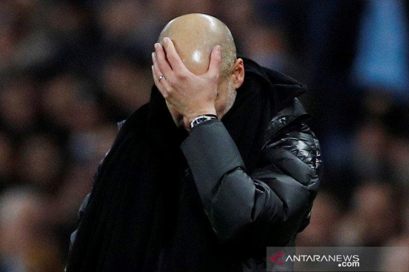 Guardiola akui City tidak bisa saingi dengan klub top Eropa