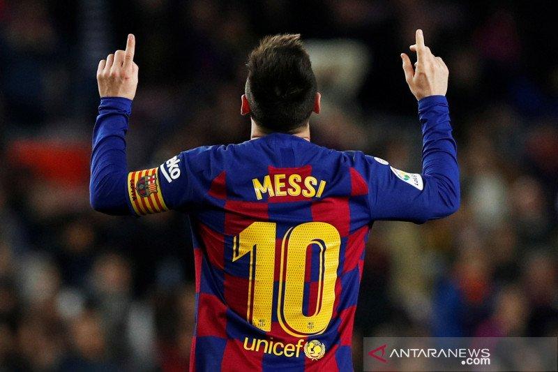 Messi absen saat Barca lawan Inter. Apakah ini trik?