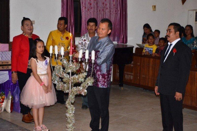 Jaya S Monong ajak Kerukunan Warga Dusmala berpartisipasi sukseskan pembangunan