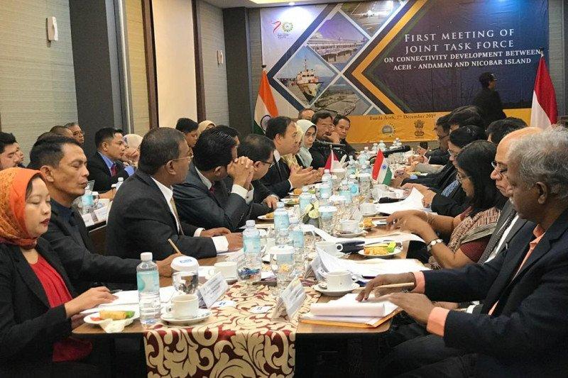 RI-India sepakat majukan konektivitas Aceh-Kepulauan Andaman, Nicobar