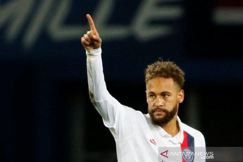 Hadapi Dortmund, Neymar siap perkuat PSG