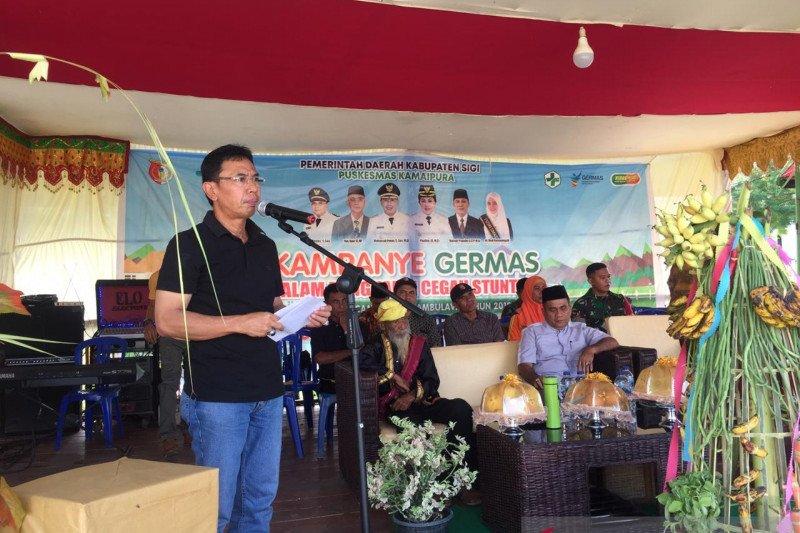 Ribuan anak di Kabupaten Sigi tumbuh kerdil