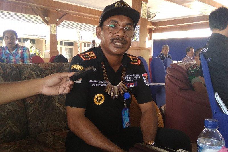 Ormas LMA Saereri telah terdaftar di Bakesbangpol Biak Numfor