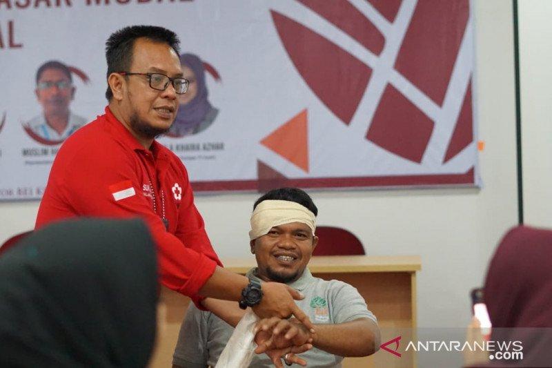 PMI latih karyawan BEI Aceh pertolongan pertama pada kecelakaan kerja