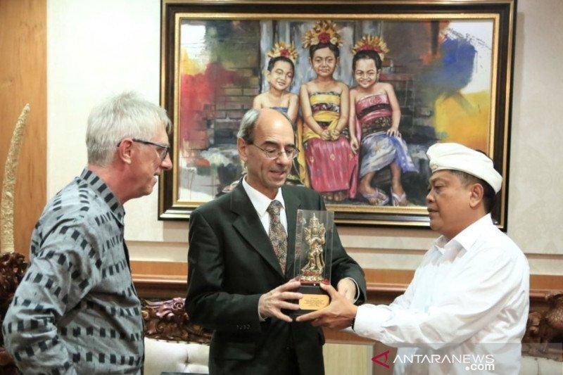 Lihat beragam aktivitas di Denpasar, Dubes Swiss kunjungi Bali