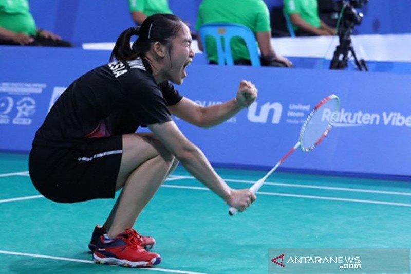 Indonesia tempatkan tiga wakil di final perorangan bulu tangkis