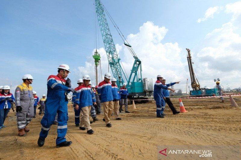 Proyek kilang Balikpapan serap 1.645 tenaga kerja lokal