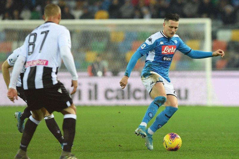 Kesebelasan Napoli perpanjang catatan gagal menang saat imbang dengan Udinese