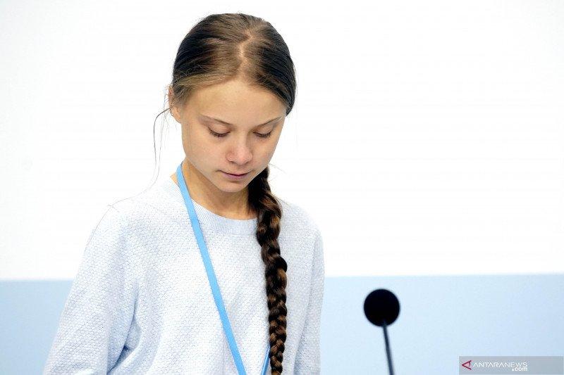 Greta Thunberg ditetapkan sebagai 'Person of the Year' oleh majalah Time