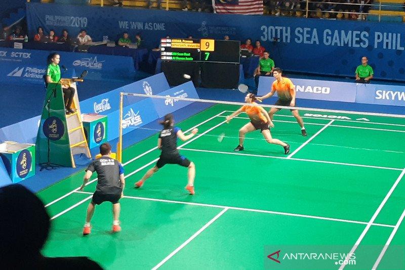 Praveen/Melati rebut emas SEA Games