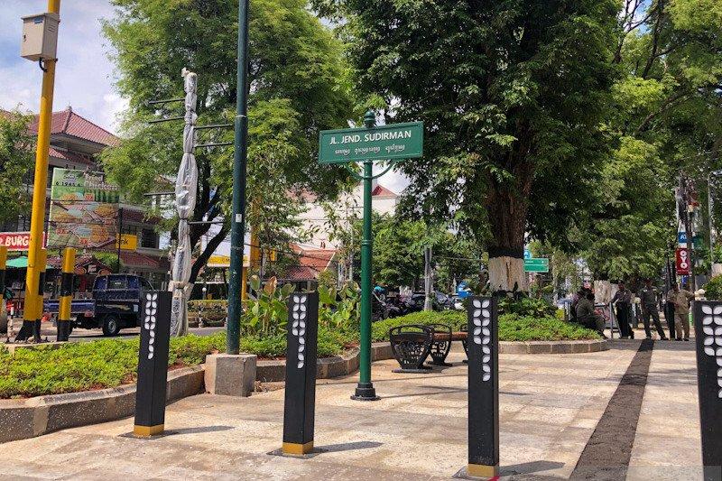Pedestrian Jalan Sudirman harapkan tarik lima persen pengunjung Malioboro