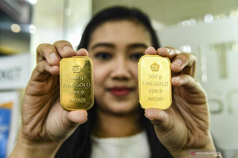 Harga emas berbalik naik ketika AS catat rekor baru infeksi COVID-19