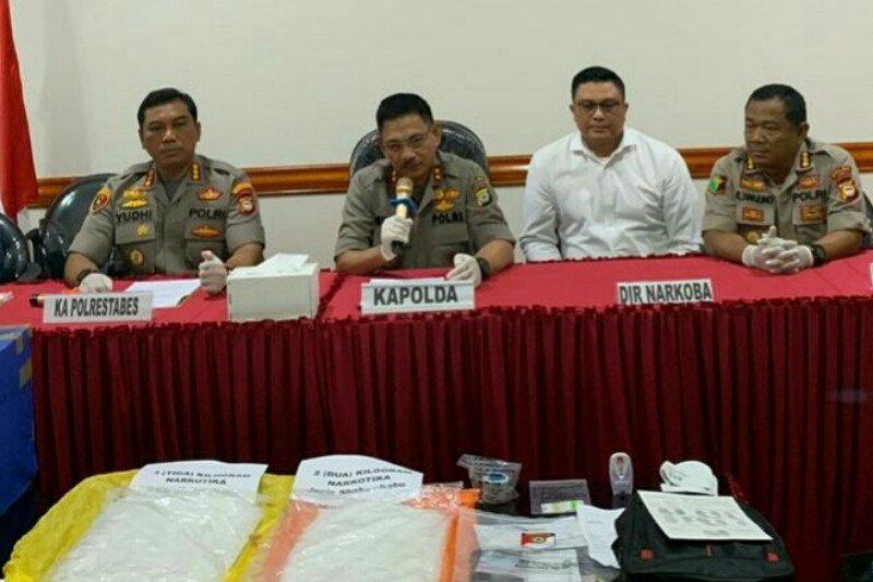 Polrestabes Makassar gagalkan peredaran sabu-sabu untuk tahun baru