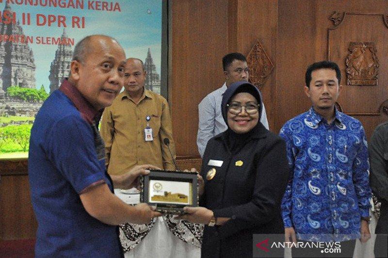 Komisi II DPR tinjau persiapan Pilkada 2020 di Kabupaten Sleman