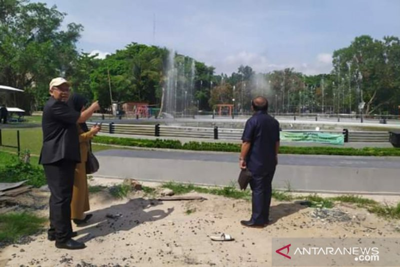 RTH Kamboja Banjarmasin dipercantik dengan dana jjjRp4,6 miliar