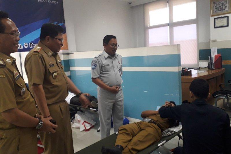 Jasa Raharja gelar donor darah peringati HUT ke-59