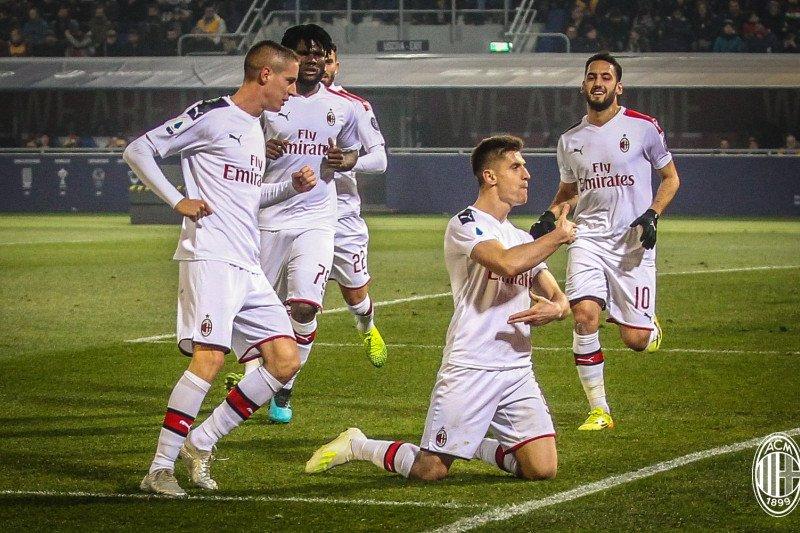 Milan kalahkan Bologna 3-2