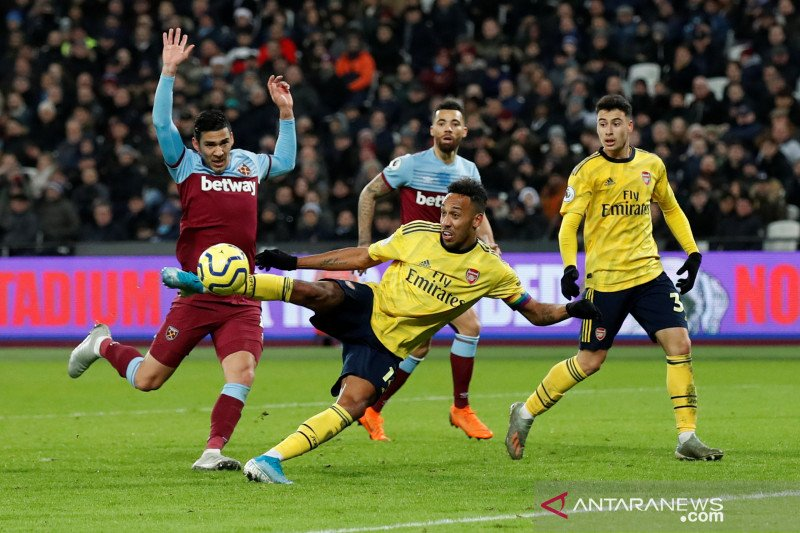 Lumat West Ham United kemenangan pertama Arsenal di bawah asuhan Ljungberg