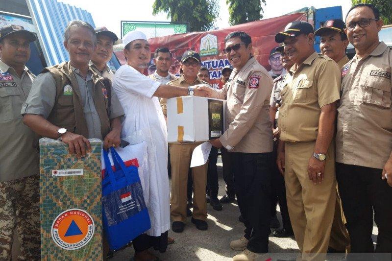 Pemerintah Aceh salurkan bantuan ke Pesantren Darussalam yang terbakar