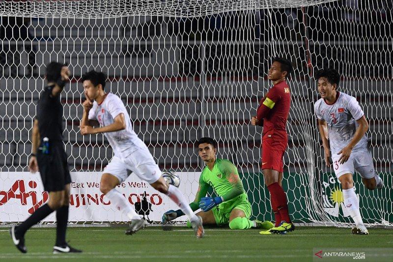 SEA Games -- Indonesia takluk 0-3 dari Vietnam