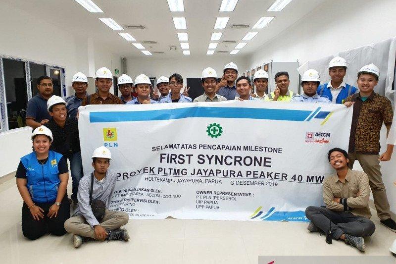 PLTMG Jayapura Peaker mulai pasok kebutuhan listrik di Kota Jayapura