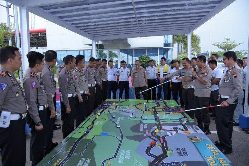 Kakorlantas Polri susuri Tol Trans-Jawa cek kesiapan jelang Natal