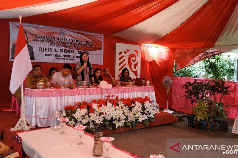 DLR serap aspirasi rakyat Minahasa Tenggara