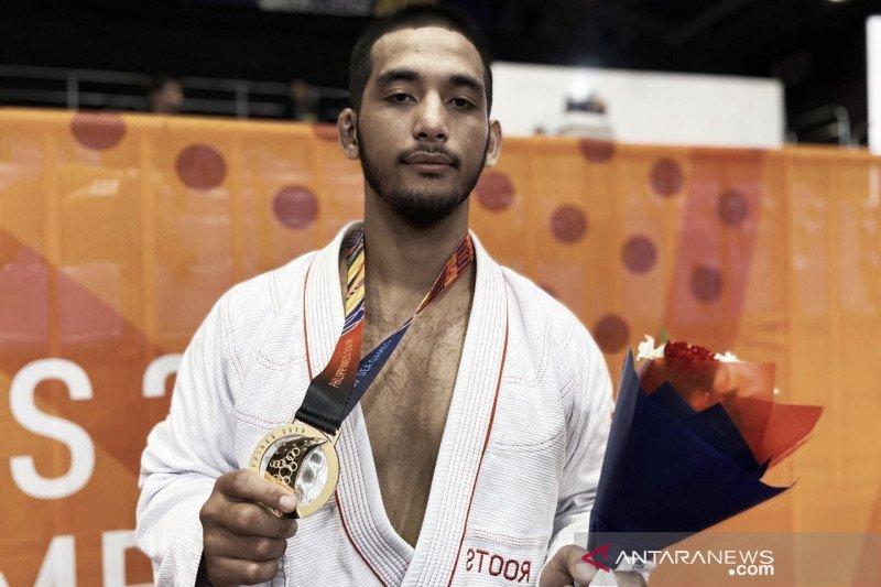 Ariq Noor raih emas Jui-Jitsu