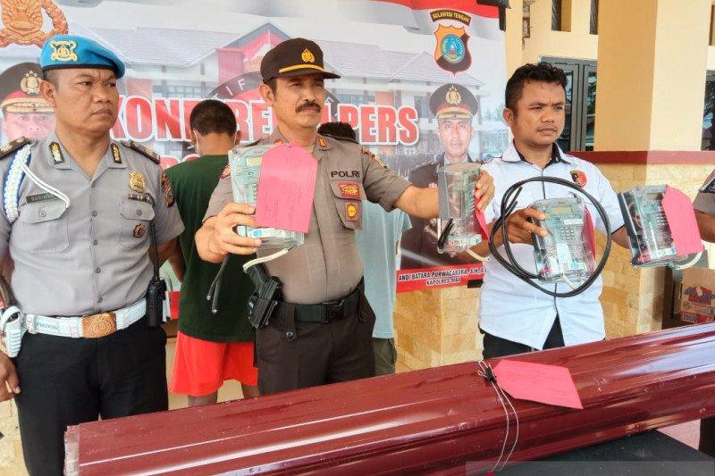 Pencuri meteran listrik di huntara Sigi dibekuk polisi
