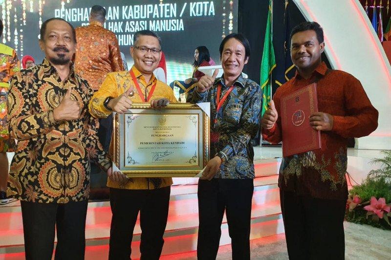 Kendari raih penghargaan sebagai Kota Peduli HAM 2019