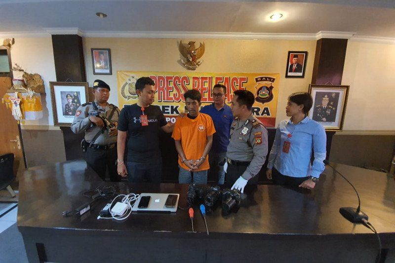 Dua wisatawan Amerika Serikat korban pencurian di Canggu-Bali