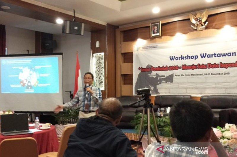 Sukseskan SP 2020, BPS Papua Barat gelar lokakarya untuk wartawan