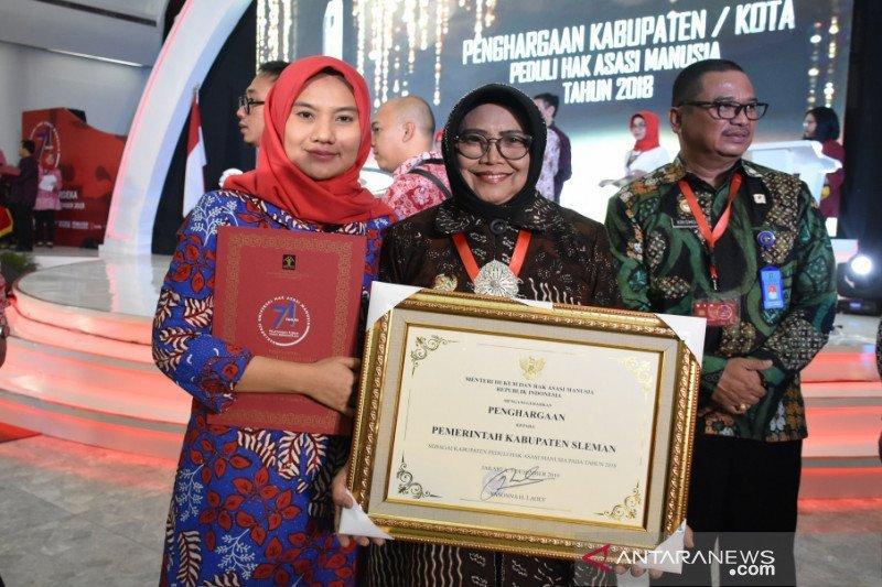 Kabupaten Sleman raih penghargaan Peduli HAM 2019