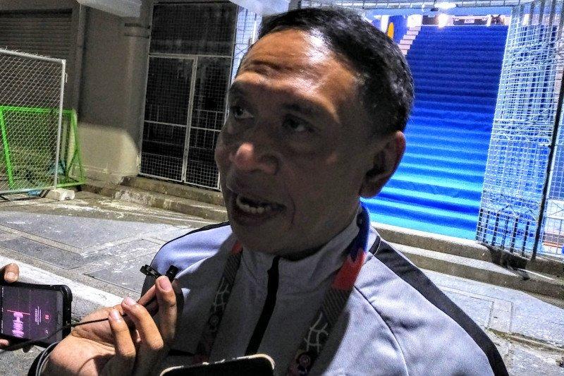 Menpora semangati pemain timnas Indonesia U-22 setelah kalah di final